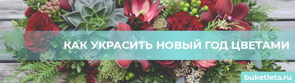 Цветы на новый год